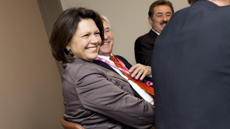 ISM 2012 / Bundesverbraucherministerin Ilse Aigner besucht die ISM.