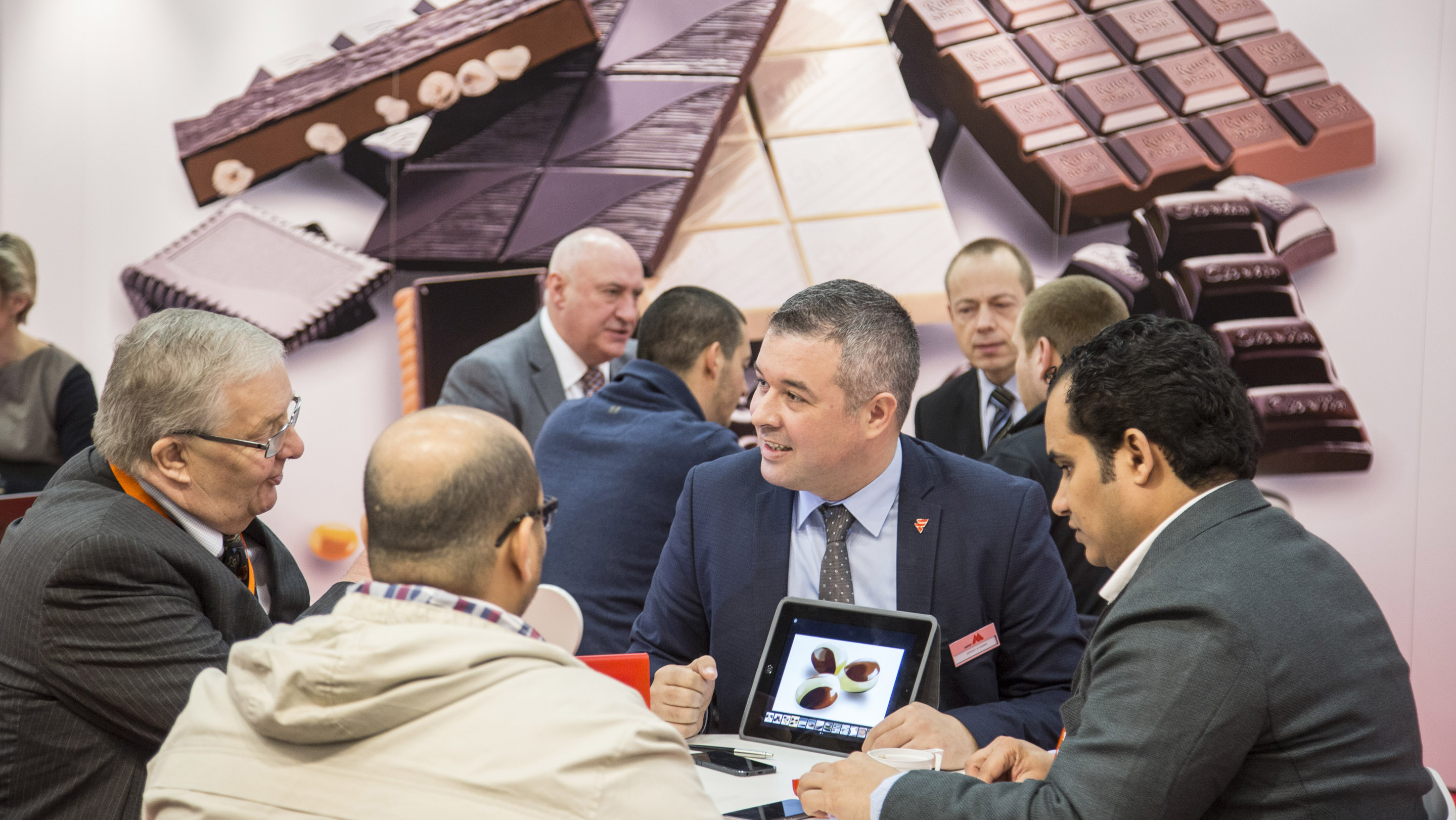 ProSweets 2016/ Stand: aasted, Halle 10.1