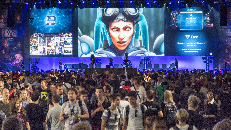 gamescom 2016/ Stand: BLIZZARD, Halle 7