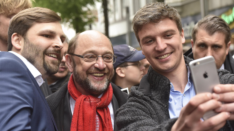 selfie mit Martin Schulz