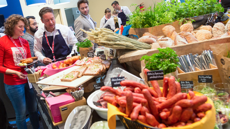 Power Breakfast - DEHOGA Marktplatz Gastronomie,  Herr Jerzy Tymofiejew, Halle 7, Anuga 2019