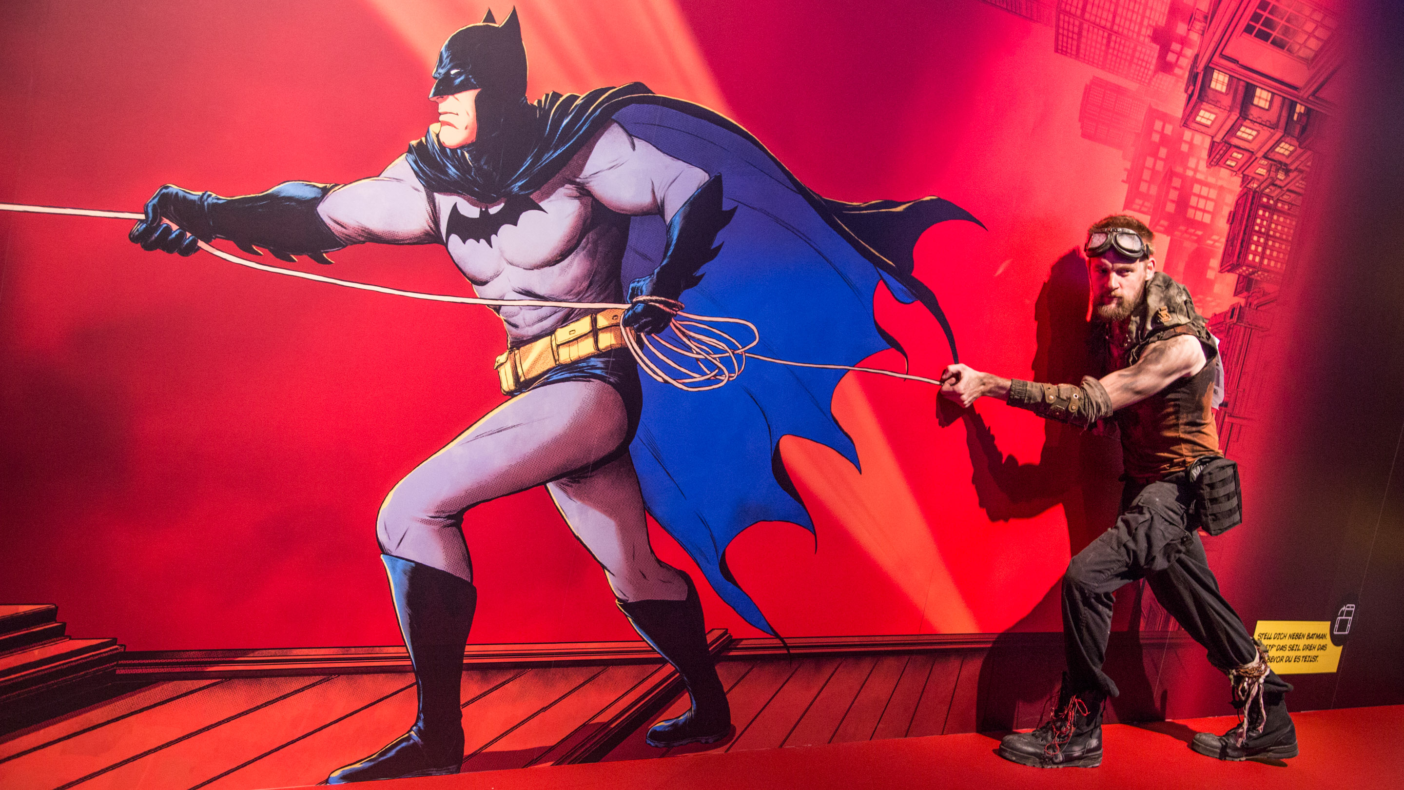Stand:  Warner Bros., Halle 8, Comic Con Experience 2019