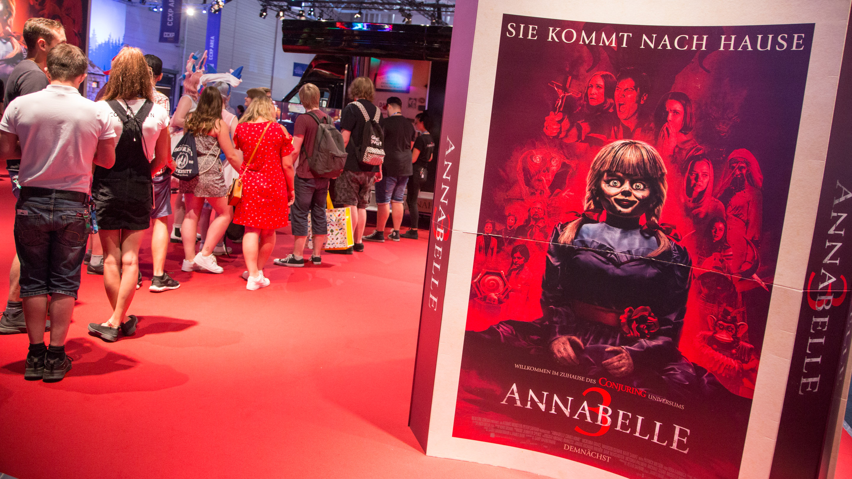 Stand: ANNABELLE , Halle 8, Comic Con Experience 2019