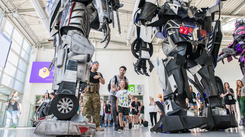 Roboter, Boulevard Nord, Comic Con Experience 2019
