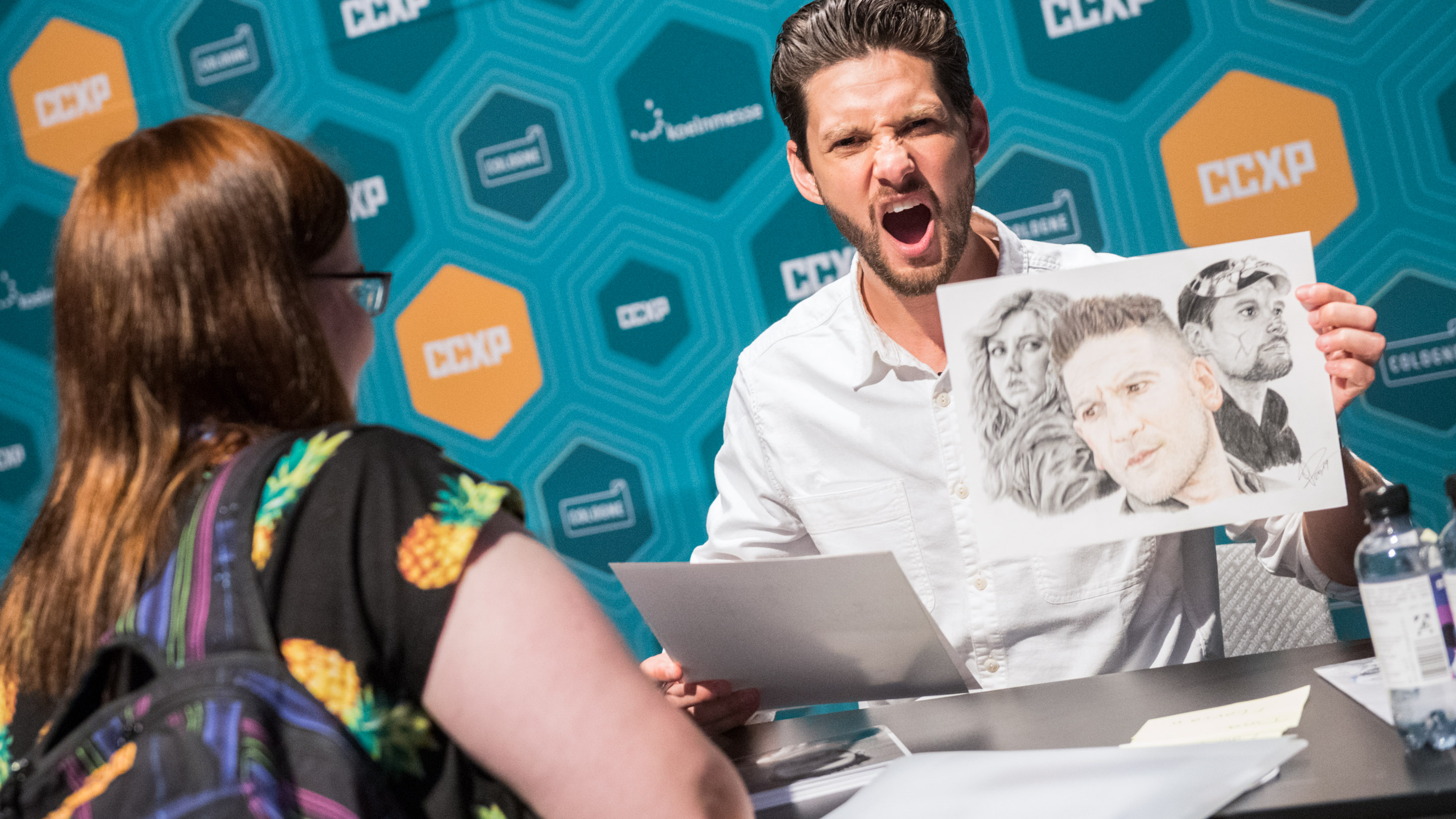 Autogrammstunde Ben Barnes, Stand: Photo & Sinage, Halle 8, Comic Con Experience 2019