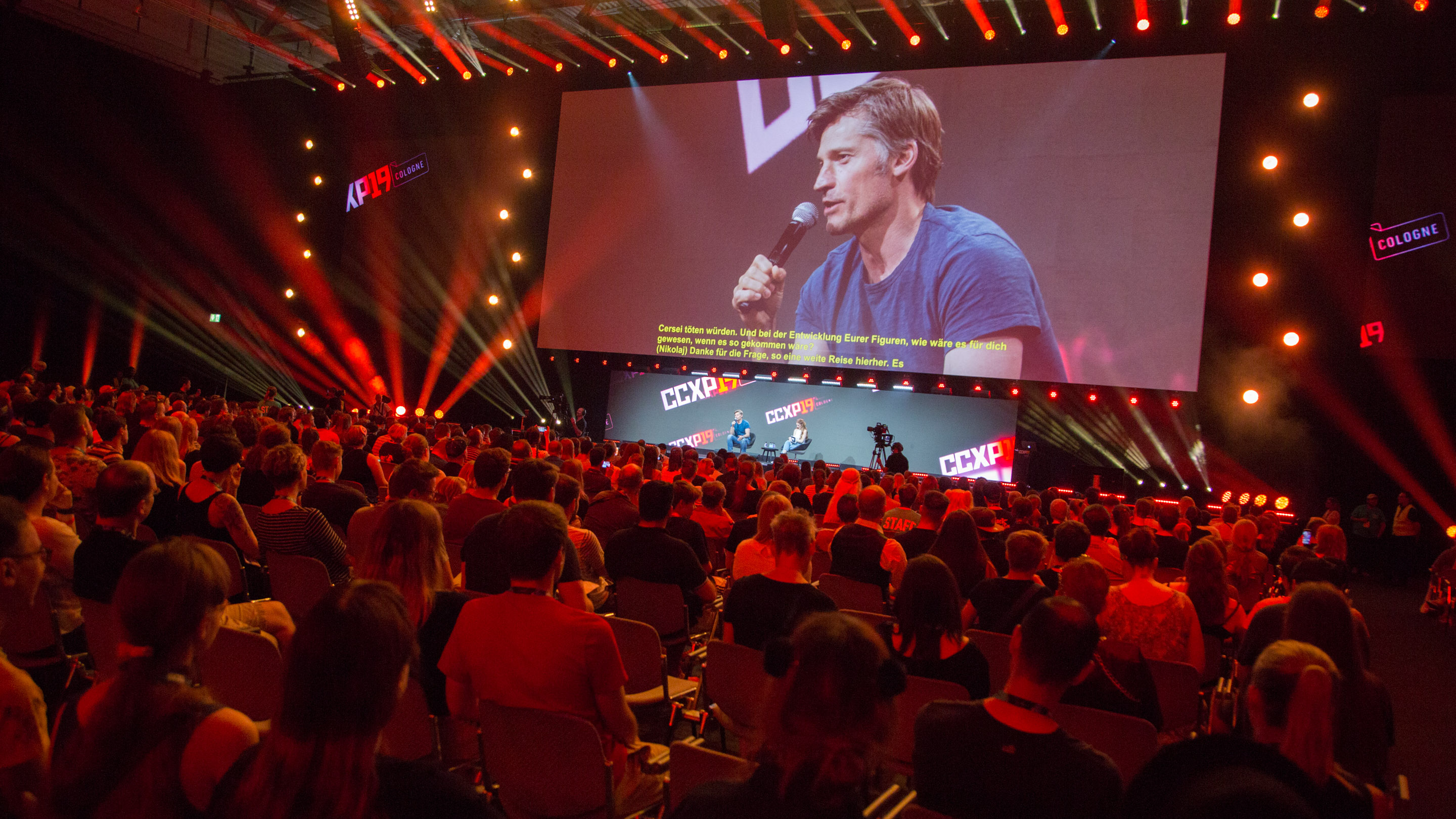 Thunder Theater: Drogon vs. Jamie - Teil 1: Erstellung der VFX für Drogon in Game of Thrones - Teil 2: Nikolaj Coster-Waldau, Hear me roar!, Halle 8, Comic Con Experience 2019