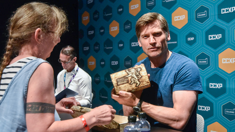 PHOTO & SIGNING: Nikolaj Coster-Waldau, Halle 8, Comic Con Experience 2019