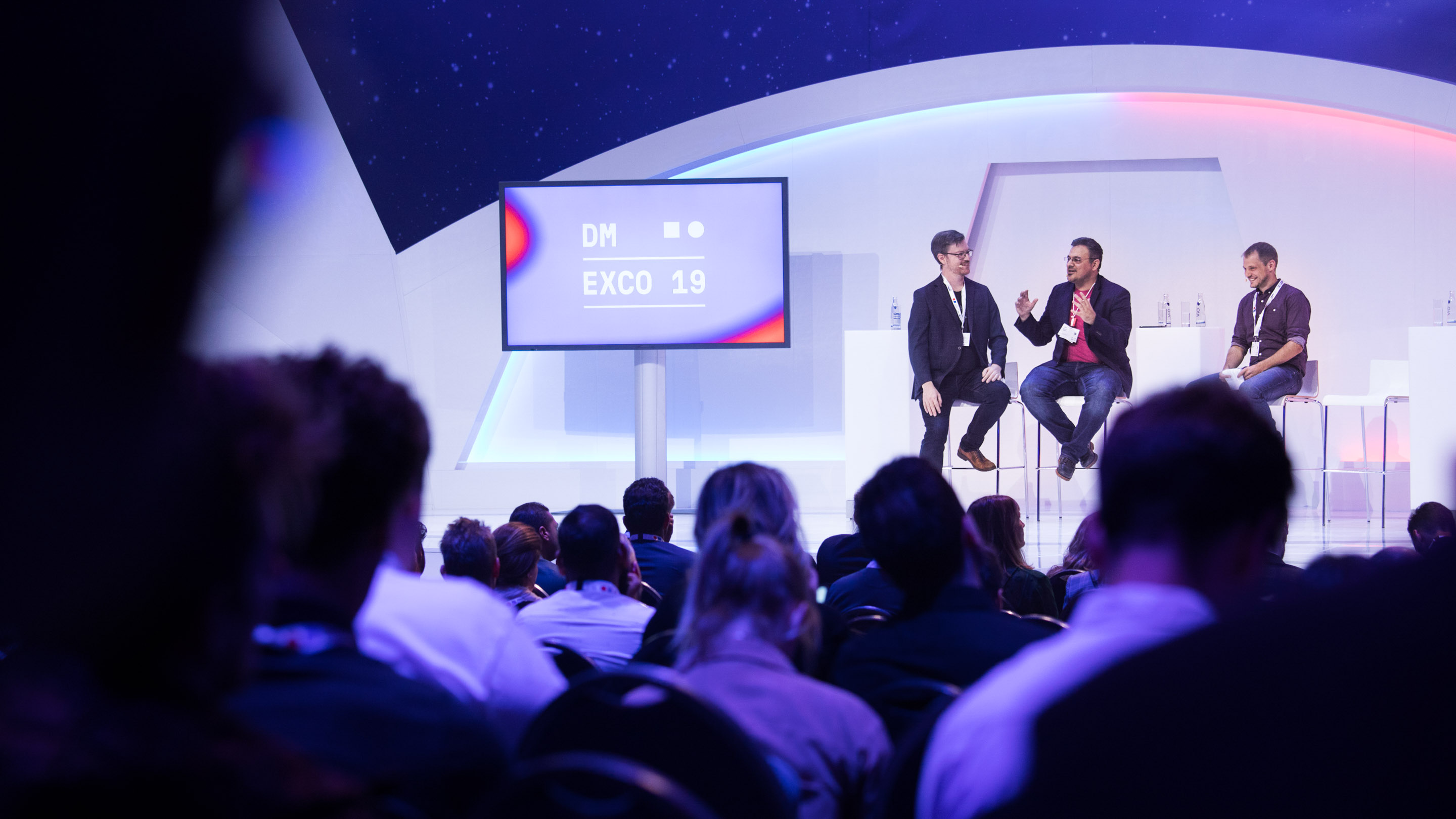 Experience Stage: How real is Blockchain? Speaker: Kambiz Djafari, Wolfgang Kerler, LuRae Lumpkin, Nathan Williams, DMEXCO 2019