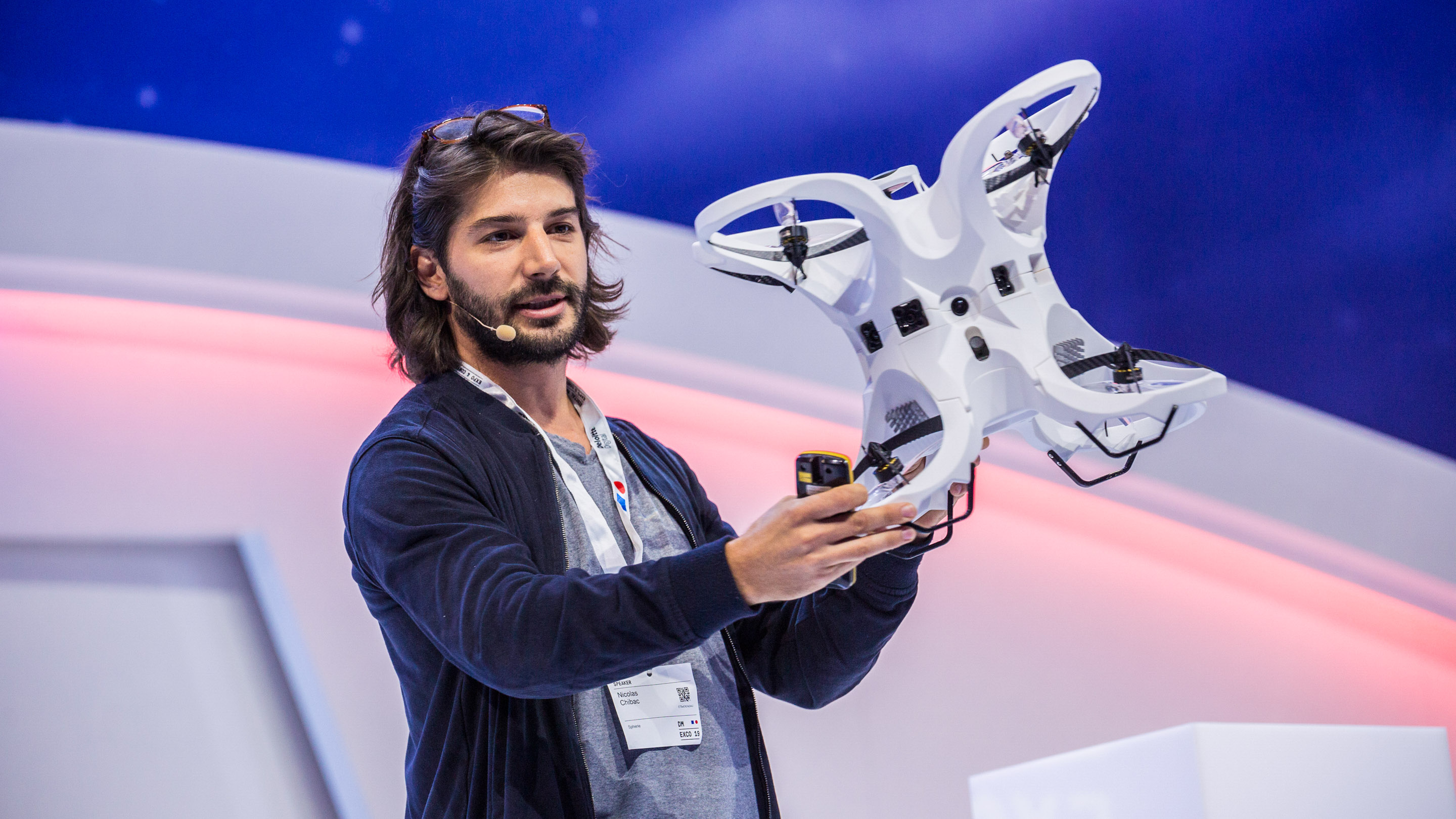 Experience Stage: Let's Fly into Another Reality – Using Drones to Capture 360° Virtual Reality Content, Speaker: Nicolas Chibac