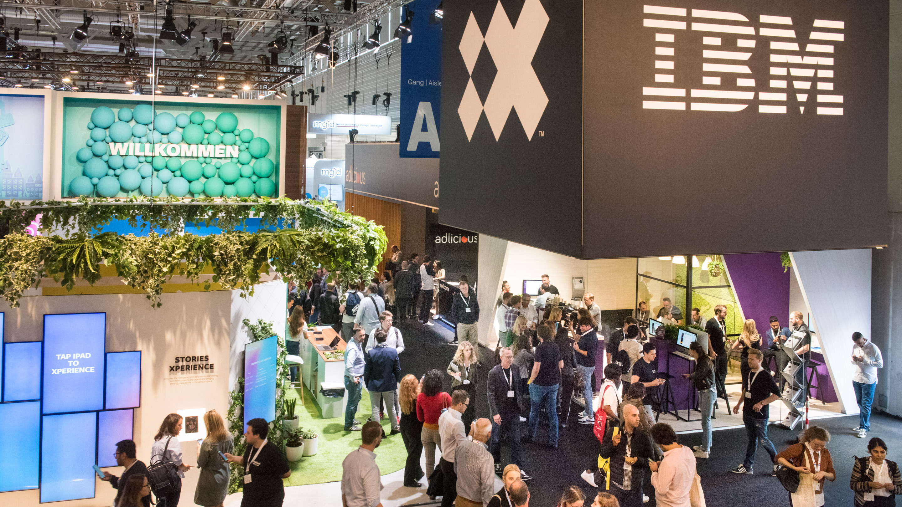 Stand: IBM, Halle 6, DMEXCO 2019