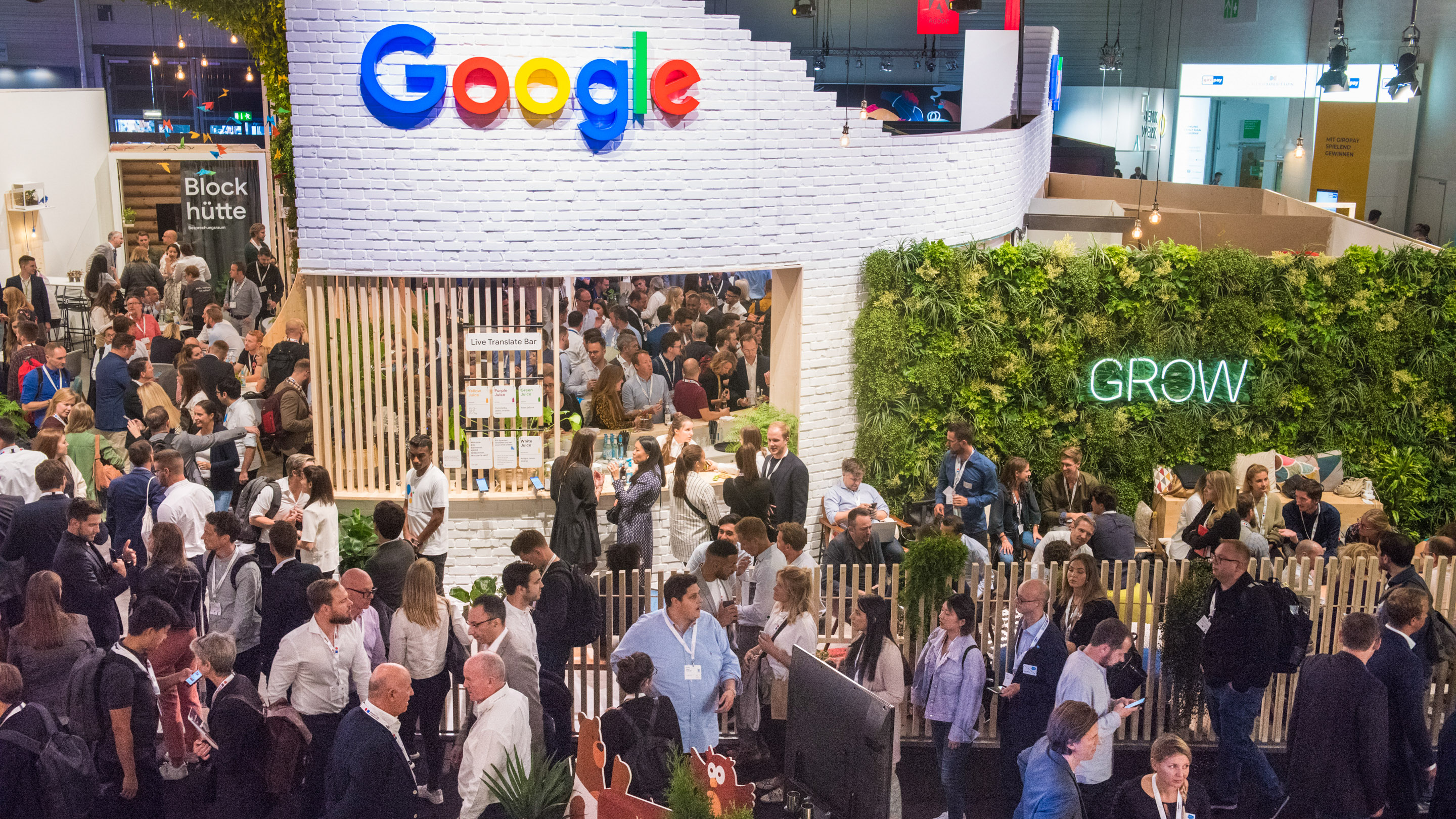 Stand: google, Halle 6, DMEXCO 2019