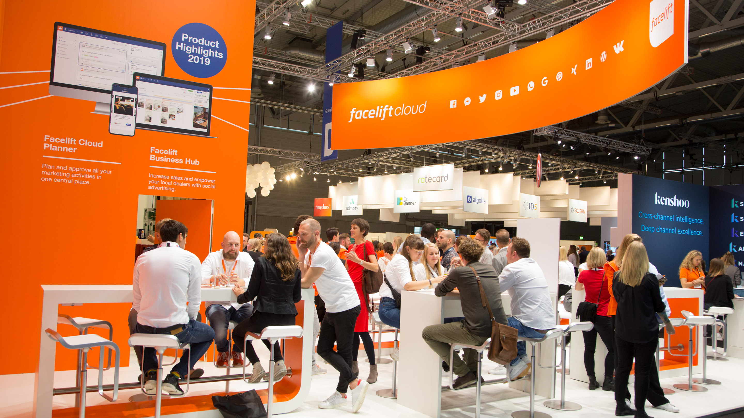 Stand: facelift, Halle 6, DMEXCO 2019
