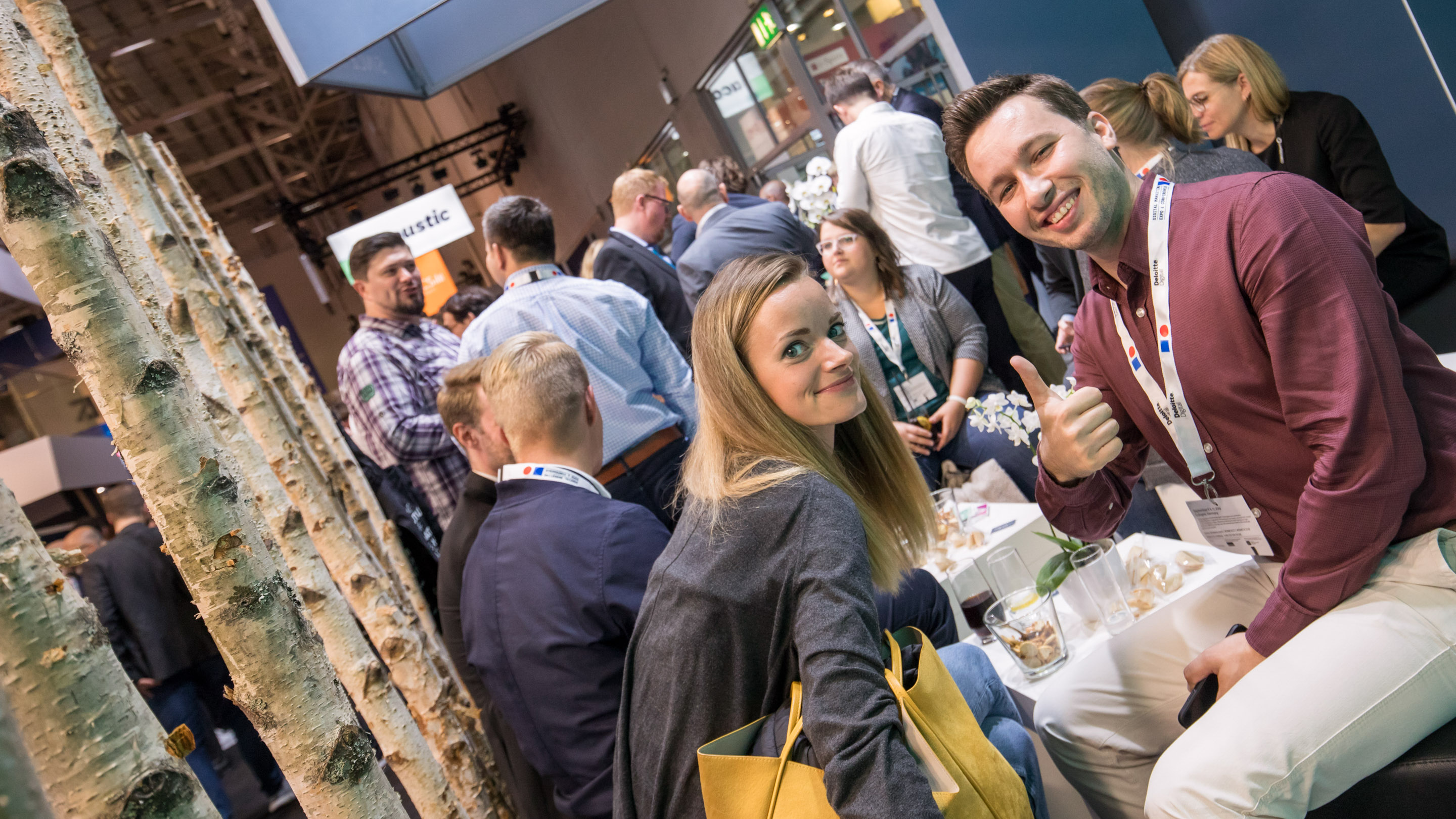 Standparty, Halle 8, DMEXCO 2019