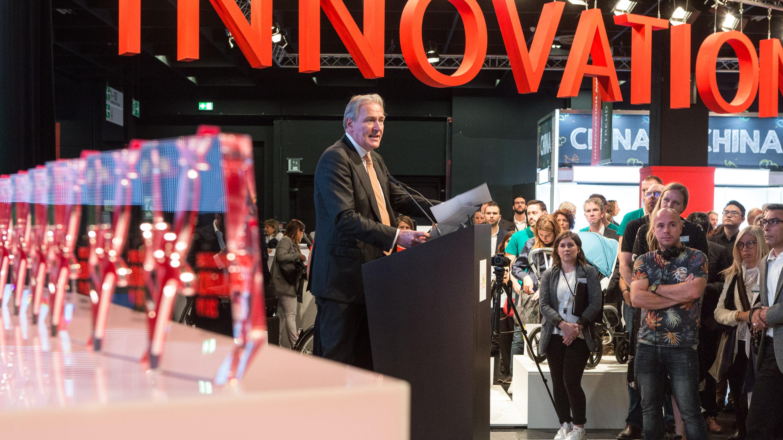 Eröffnung Kind + Jugend 2019 und Innovation Award 2019, Trendforum, Halle 11.1, Kind + Jugend 2019
