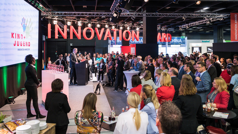 Kind & Jugend Innovation Award , Halle 11.1, Kind + Jugend 2019