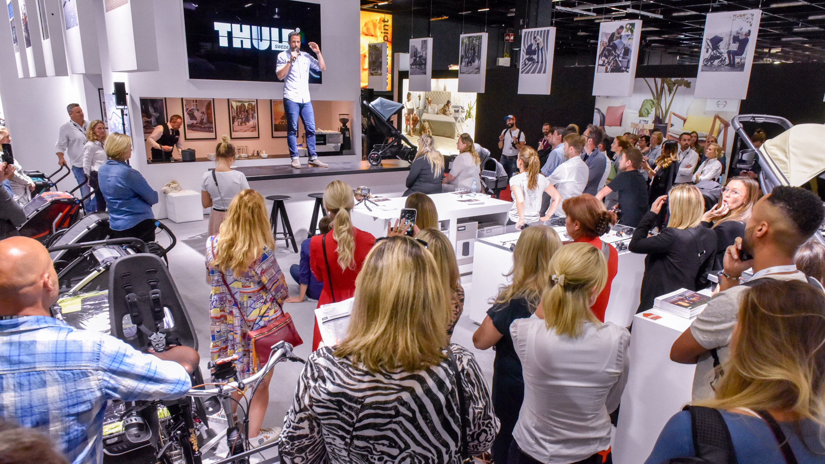 Stand: Thule, Global Launch, Halle 10.2, Kind + Jugend 2019