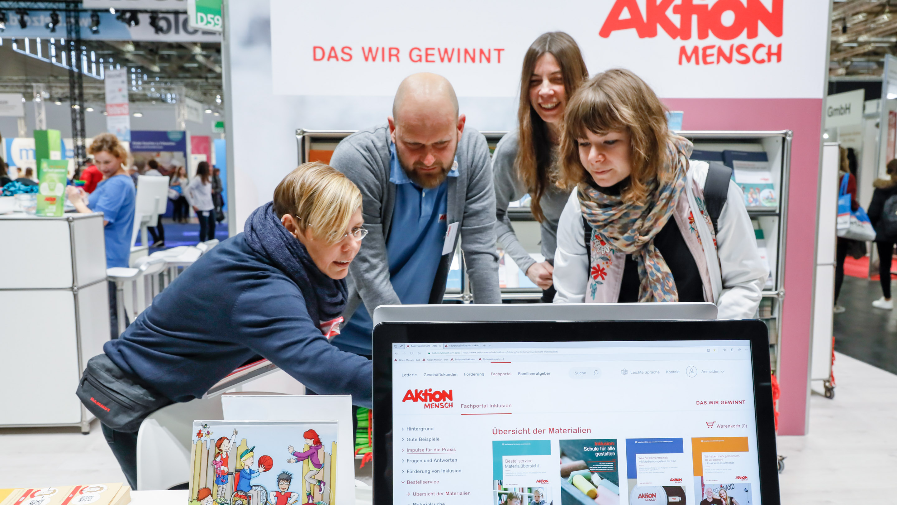 Stand: Aktion Mensch, Halle 7, didacta 2019