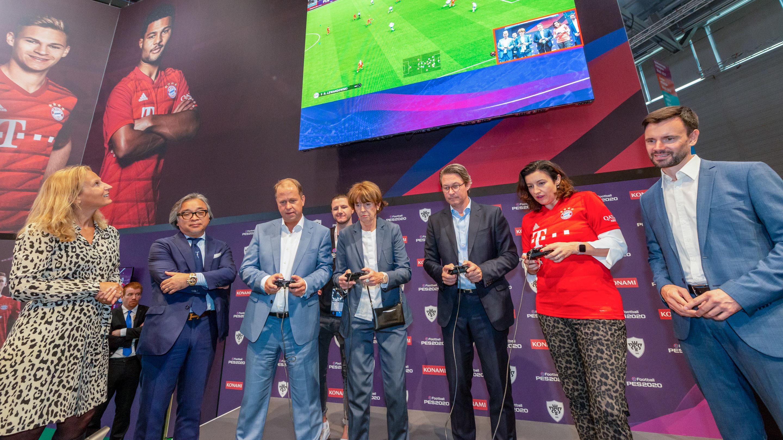 Felix Falk, Andreas Scheuer, Dorothee Bär, Eröffnung und Rundgang, gamescom 2019