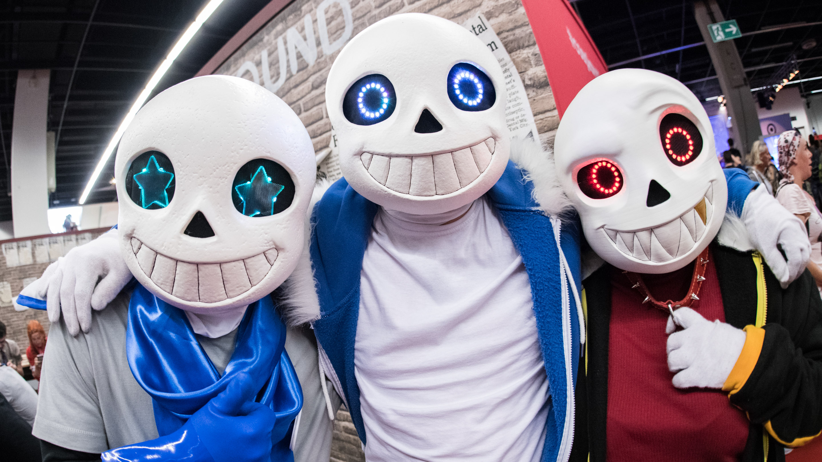 Cosplay Village, Charakter: Red, Blueberry & Classic, Halle 5.1, gamescom 2019