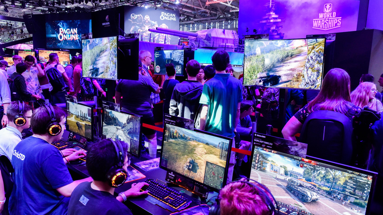 Stand: Wargaming, Halle 8, gamescom 2019