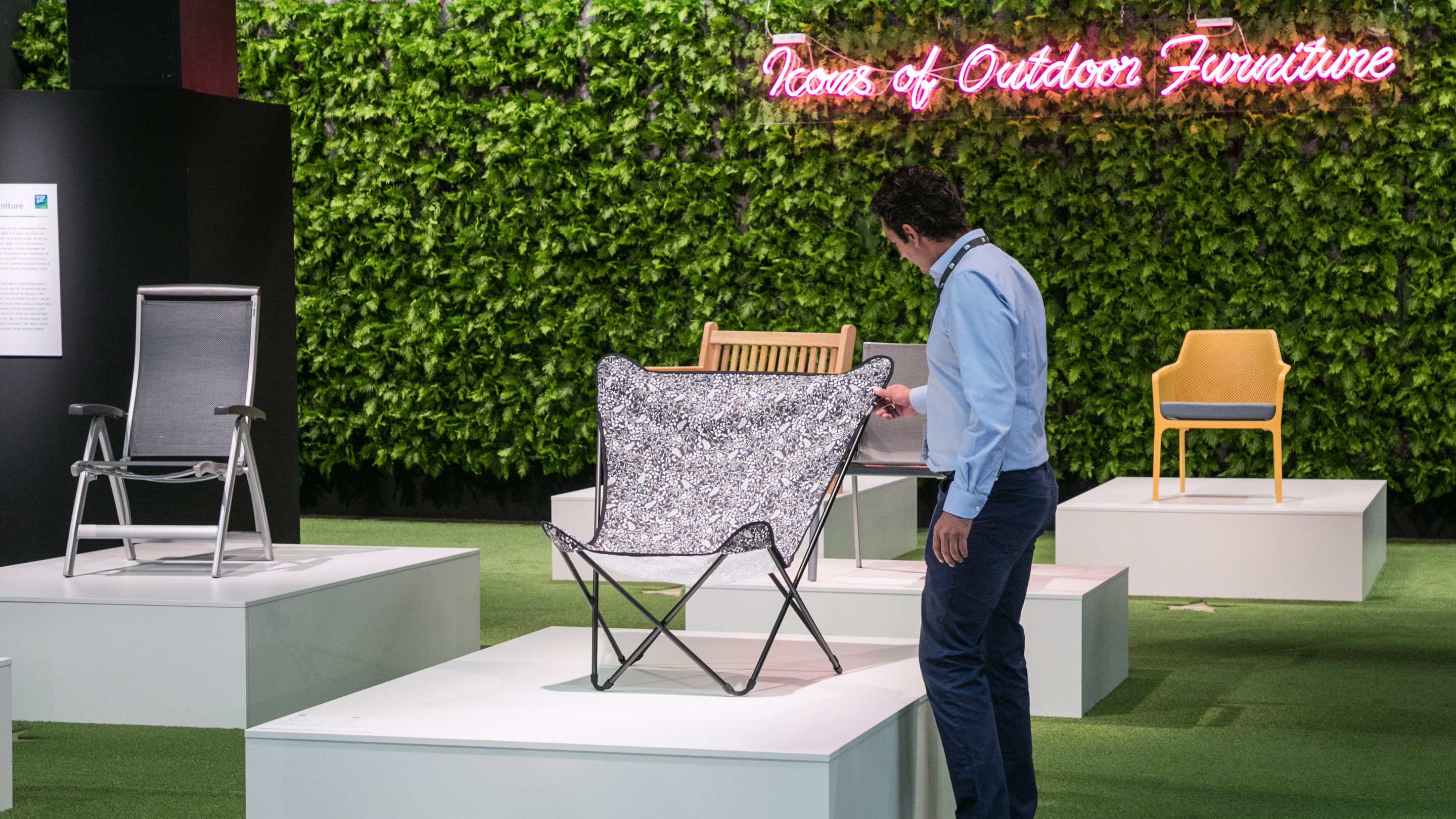 Icons of Outdoor Furniture, Halle 10.2, spoga + gafa 2019