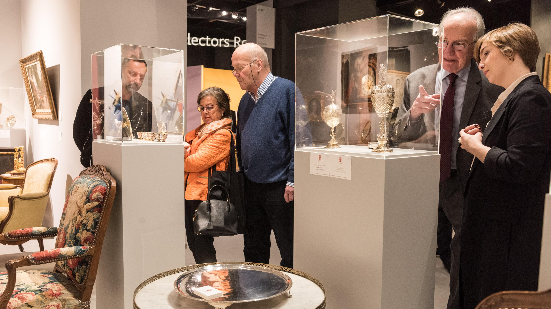 Stand: von Zeschwitz/ Weller, Halle 11.2, Cologne Fine Art & Design 2019