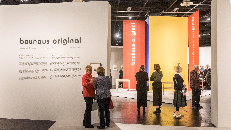Sonderschau Bauhaus Original, Halle 11.2, Cologne Fine Art & Design 2019