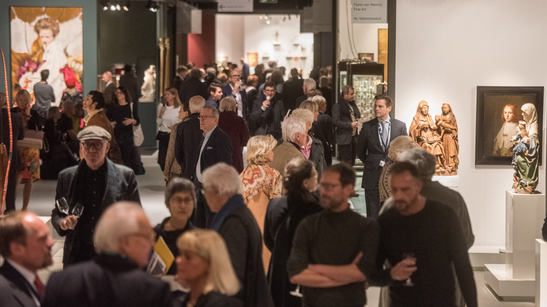 Hallendurchblick, Halle 11.2, Cologne Fine Art & Design 2019