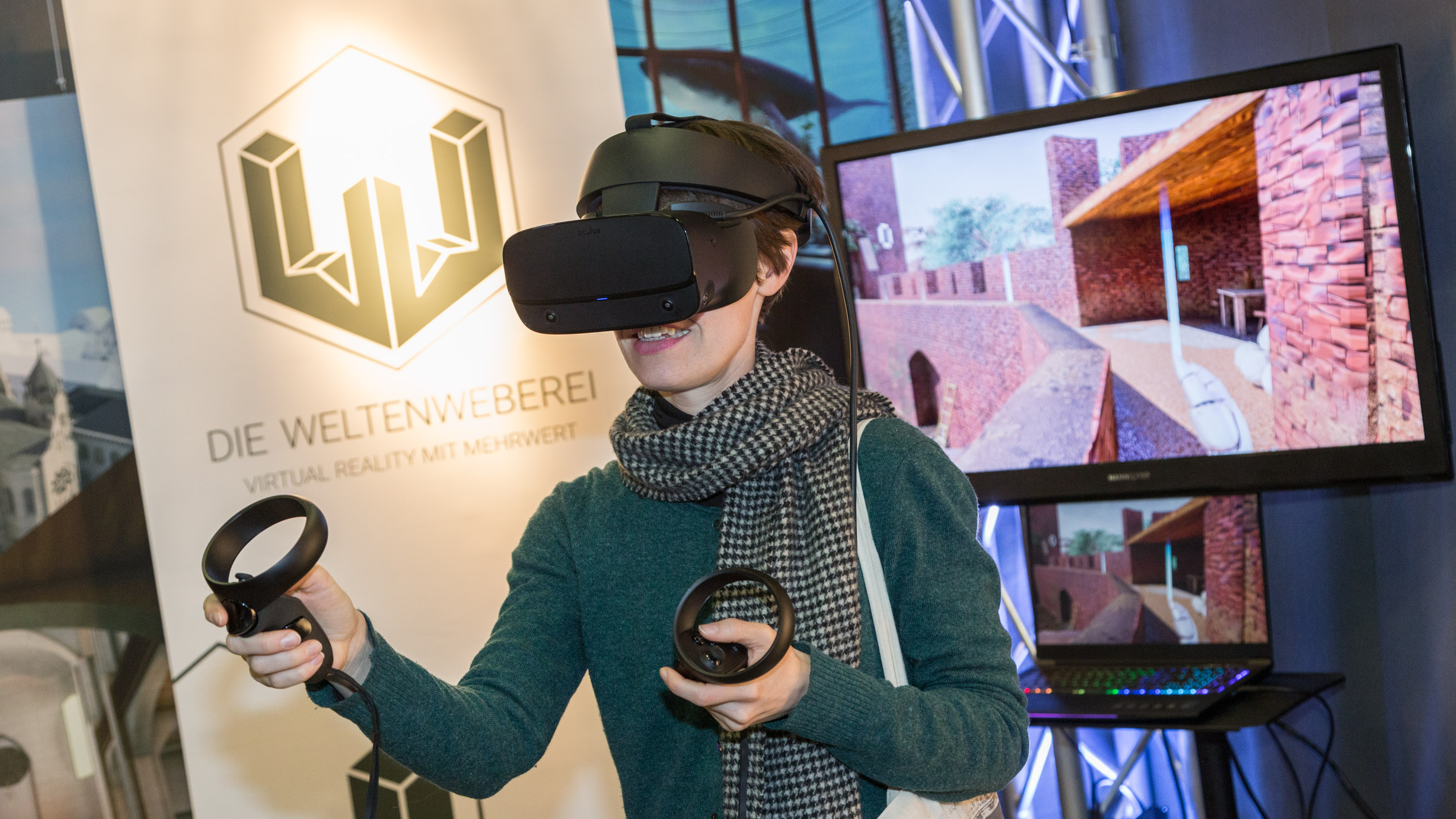 Stand: SPACE INTERACTIVE, Halle 3.2, Exponatec 2019