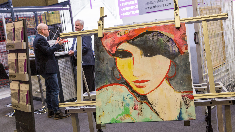 Stand: ART STORE, Halle 3.2, Exponatec 2019