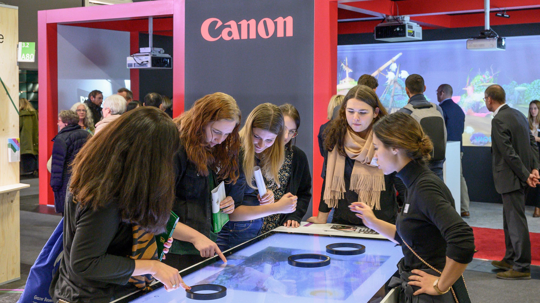 Stand: Canon, Halle: 3.2, Exponatec 2019