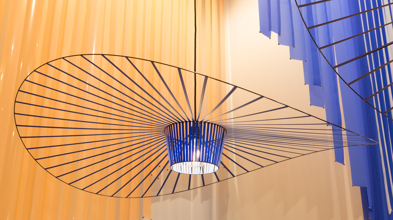 Stand: Petite Friture ,  Dekorativer Wohnen, Pure Editions, Licht, blau,  Halle 3.2, imm cologne 2020