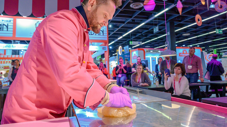 Sweet Kitchen @ISM, CiuCiu Bonbonmanufaktur - Candy Show (Bonbons) mit Florian Belgard, Halle 3.1, ISM 2020