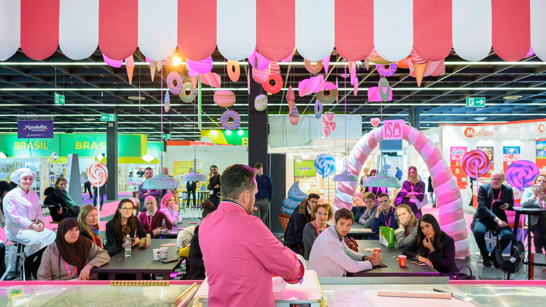 Sweet Kitchen @ISM, CiuCiu Bonbonmanufaktur - Candy Show (Lutscher) mit Florian Belgard, Halle 3.1, ISM 2020